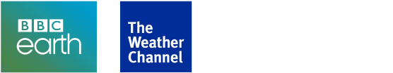 BBC Earth and The Weather Channel Logos