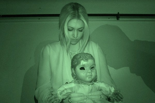 Spooky image with girl and doll back2back productions
