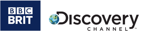 BBC Brit Discovery Channel Logos