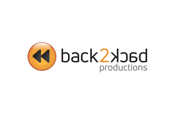 back2back productions logo masthead